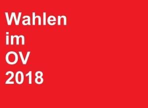 Wahlen 2018 OV